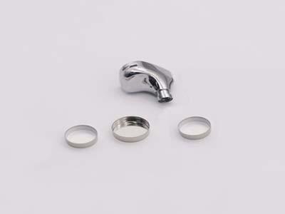 森丰蓝牙耳机锂离子电池盖钛铝工艺真空电镀层应用案例