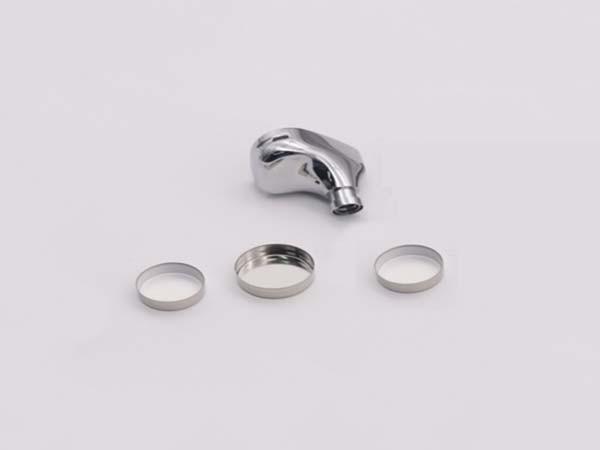 森丰蓝牙耳机锂离子电池盖钛铝工艺真空电镀膜层应用案例