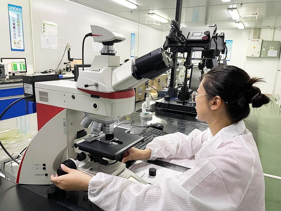 森丰真空镀膜加工厂家-莱卡显微镜