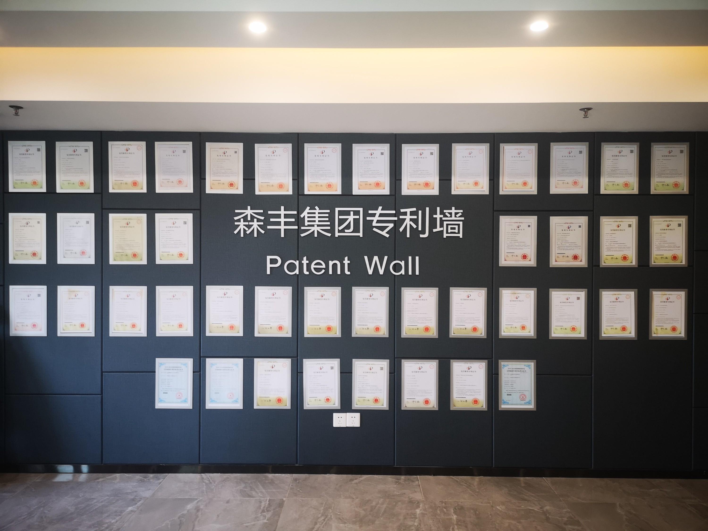 森丰pvd镀膜加工专利墙