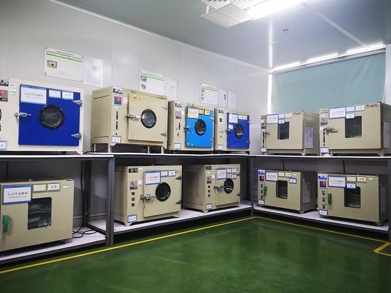 真空镀膜加工厂家,pvd镀膜加工厂家,森丰研发检测中心-人工汗测试区