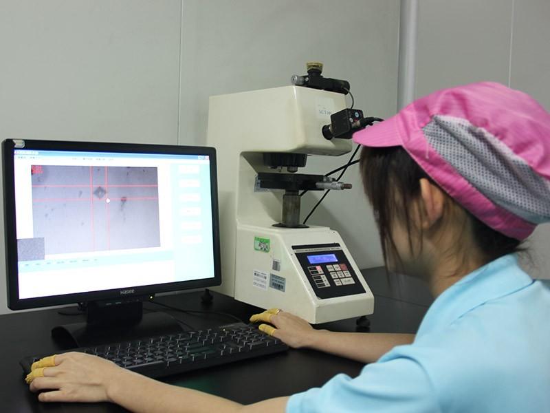 森丰研发检测中心-显微硬度测试