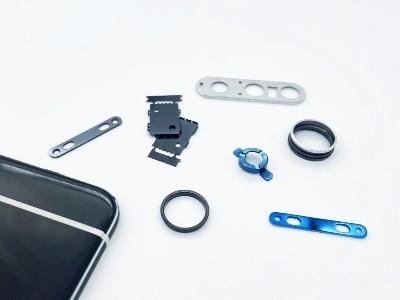 森丰手机镜头圈真空镀膜及按键WDLC硬质膜层应用案例